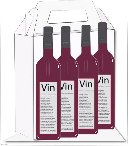 Vinkartong med eget tryck