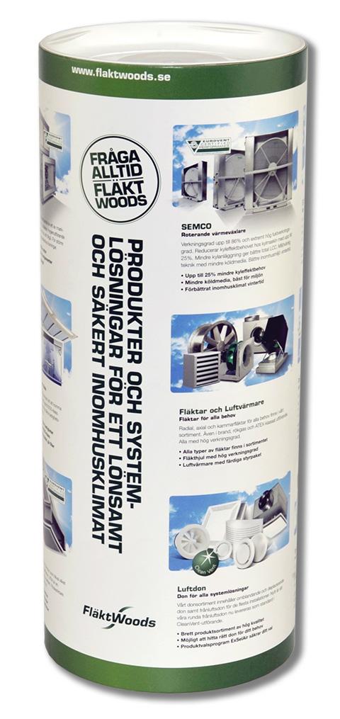 reklam förpackningar med eget tryck som papptub