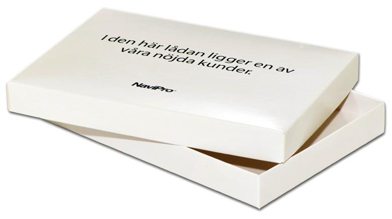 Låda kartong förpackning med lock