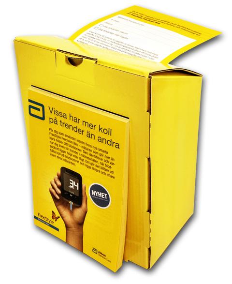 Röstbox / röstlåda / brevlåda / svarslåda
